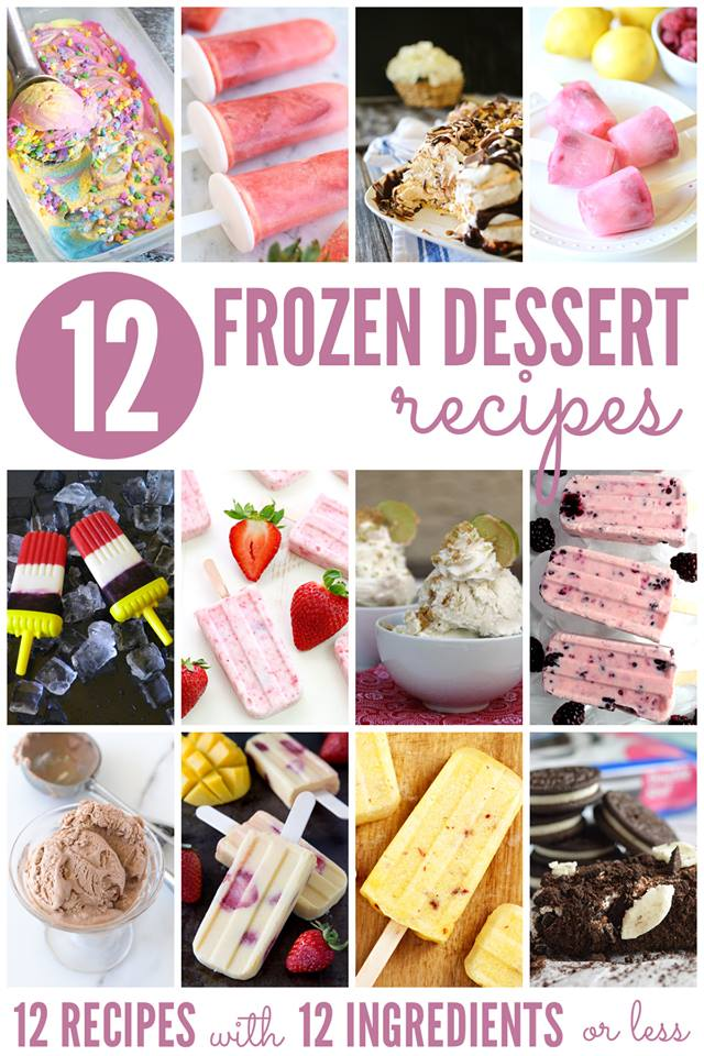 frozen treats 12 bloggers