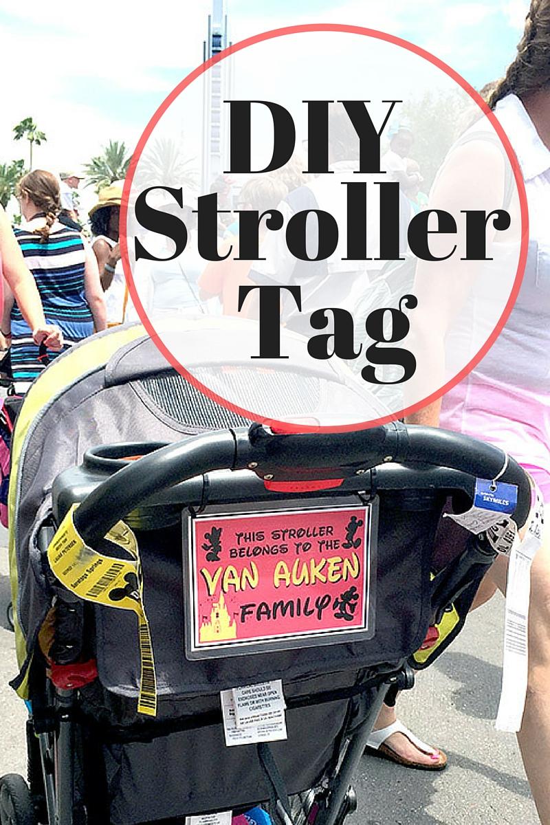 DIY Stroller ID Tag