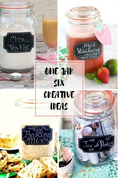 One Jar Six Creative Ideas