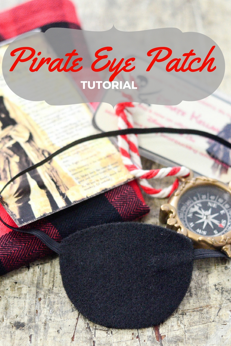 How To Make A Pirate Eye Patch Craft
