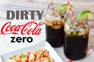 Dirty Coke Zero and RITZ-y Mozzarella Bites