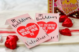 Super Easy Valentine Gift! Free Printable!