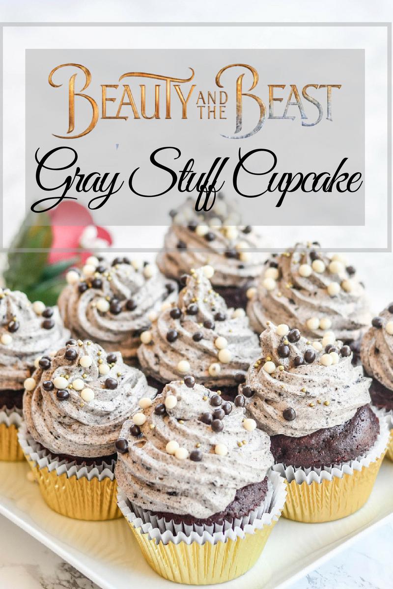 Beauty And The Beast Gray Stuff Cupcake Pink Cake Plate