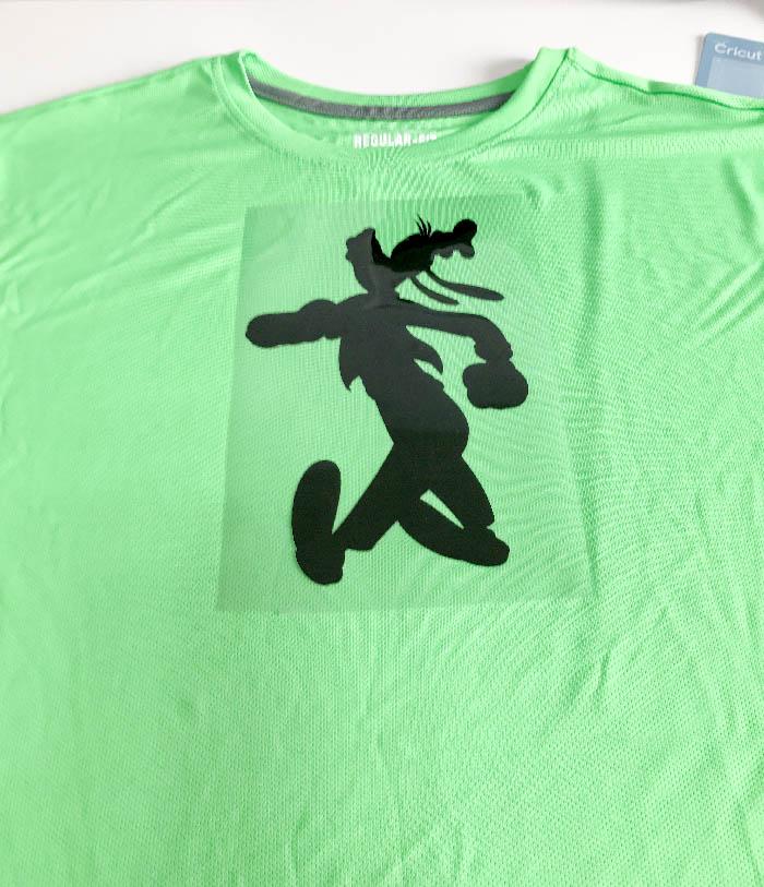 Iron On Vinyl 101 Disney Goofy T-Shirt