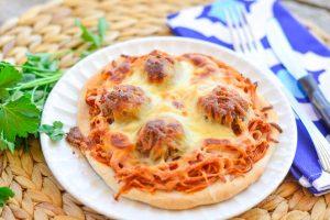 Mini Spaghetti Pizza Pies