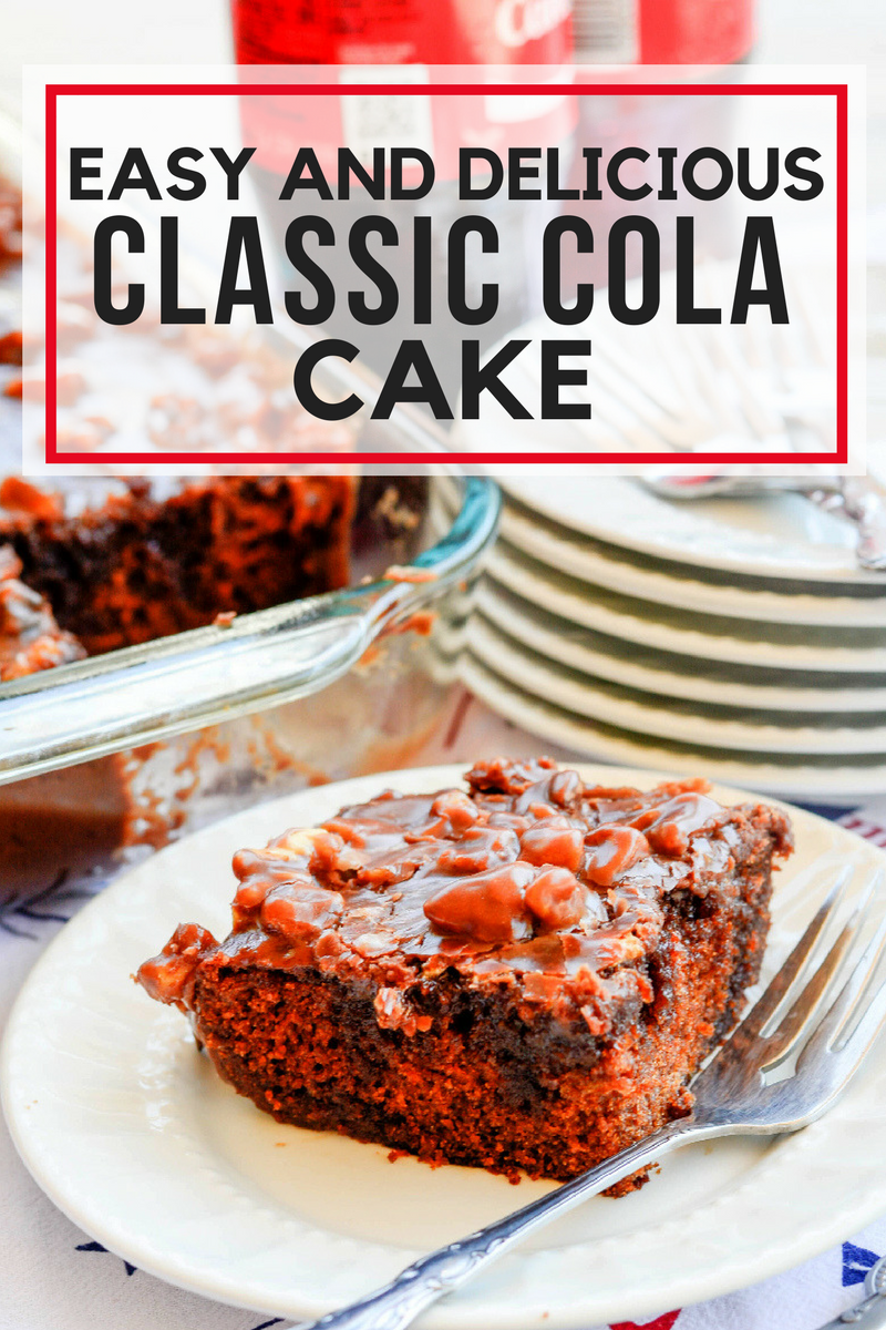 Easy and Delicious Classic Cola Cake
