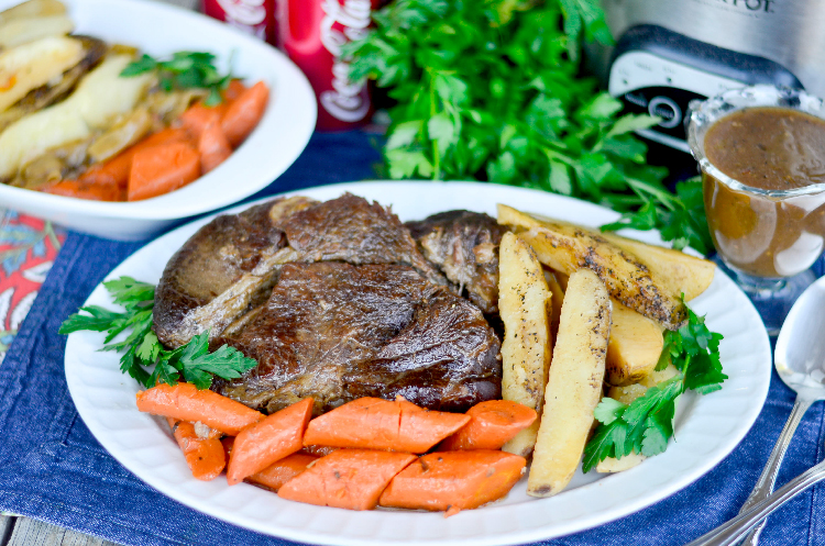 Slow Cooker Coca Cola Pot Roast