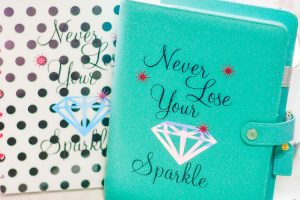 Bling Your Planner with the Cricut Maker
