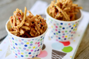 No Bake Texas Tumbleweeds