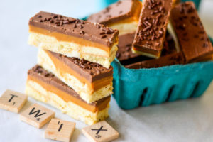 No Bake TWIX Bars