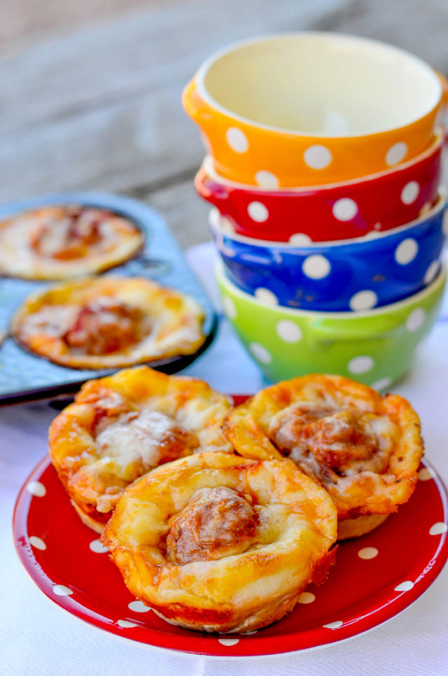 Easy Meatball Marinara Cups