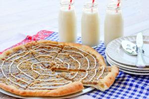 Cinnamon Struesel Pizza