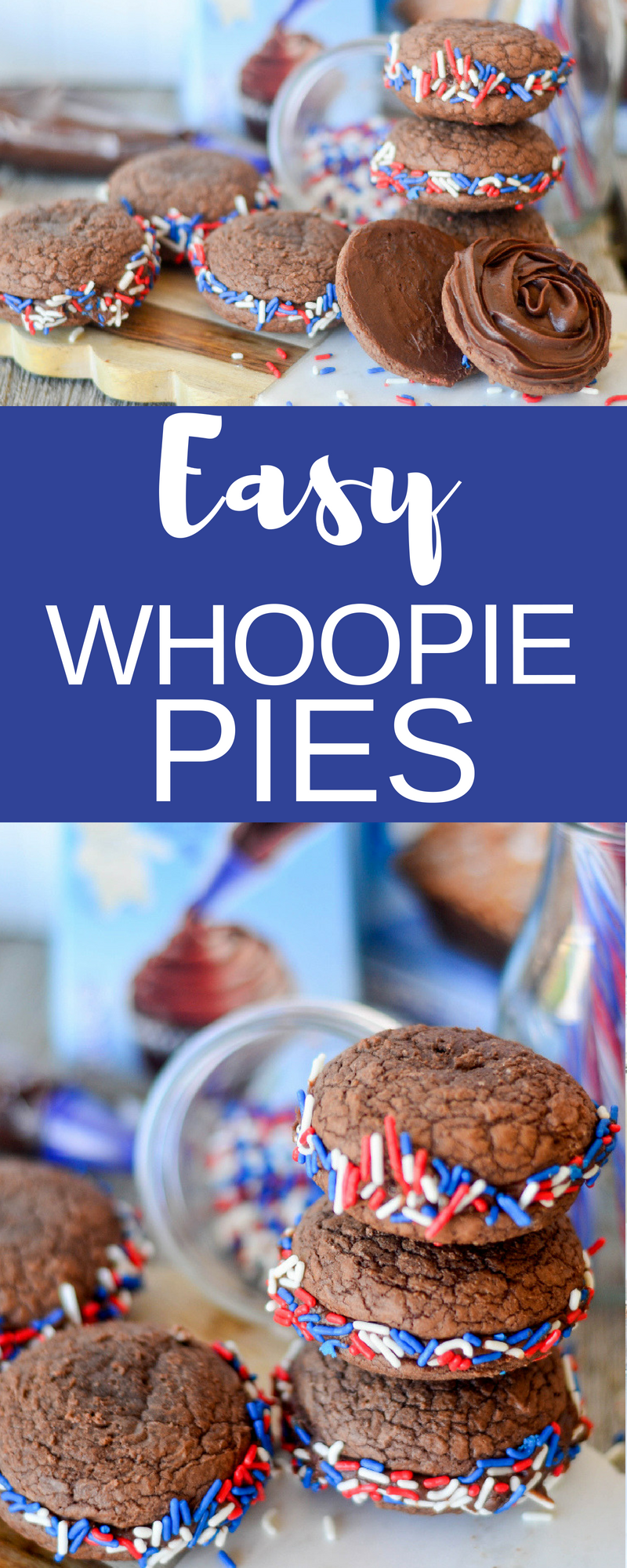 Easy Whoopie Pies Collage