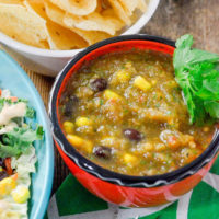 Easy Black Bean and corn Salsa