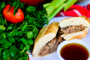 Deep Pit French Dip Sandwiches plus a Giveaway!
