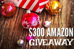 12 Days Of Christmas $300 Amazon Giveaway