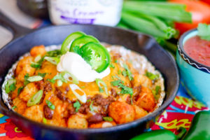 Chili Cheese Totchos