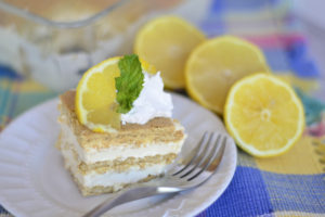 Lemonade Ice Box Cake